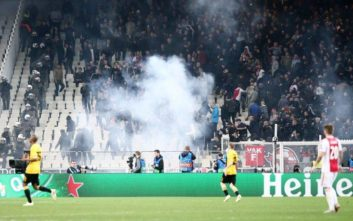 Ολοκληρώθηκε η ακρόαση της ΑΕΚ στην UEFA για τα επεισόδια με Άγιαξ