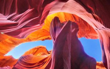 Ένα γεωλογικό θαύμα στην Αριζόνα
