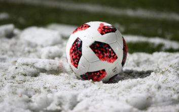 Αυτά είναι τα ματς της Super League που θα επηρεαστούν από τον χιονιά