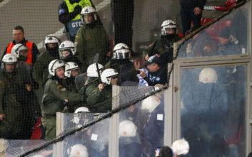 Ένταση μεταξύ Ουκρανών και αστυνομίας στο Καραϊσκάκη