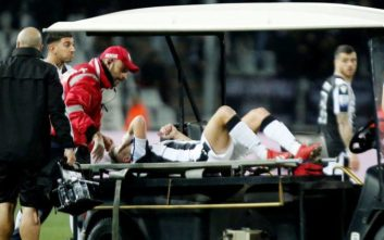 Αποχώρησε τραυματίας από το ματς με Πανιώνιο ο Πέλκας