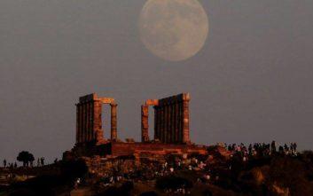 Στόχος ληστών το ΑΤΜ στο ναό του Ποσειδώνα στο Σούνιο