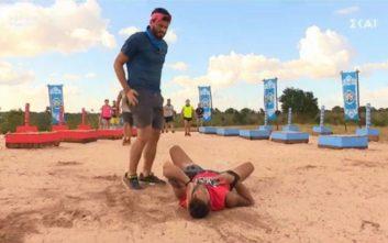 Τρόμαξαν στο Survivor με παίκτη που χτύπησε στο κεφάλι
