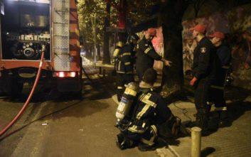 Αυτοκίνητο κάηκε ολοσχερώς στη Χαλκιδική