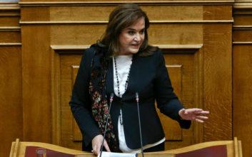 Μπακογιάννη: Το ηθικό πλεονέκτημα του ΣΥΡΙΖΑ είναι ένας μεγάλος μύθος
