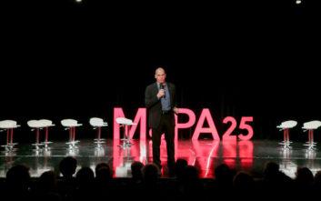 Ο Βαρουφάκης παρουσίασε το ευρωψηφοδέλτιο του ΜέΡΑ25