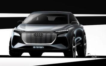 Τα πρώτα σκίτσα του Audi Q4 e-tron concept