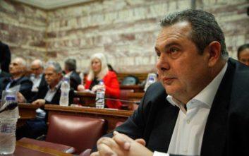 Καμμένος: Θα γίνουν εκλογές μέχρι τις 30 Ιουνίου