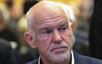 Παπανδρέου: ΝΔ και ΣΥΡΙΖΑ νοιάζονται μόνο για τη νομή της εξουσίας