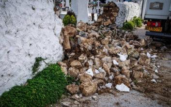 Φωτογραφίες από τις ζημιές στην Πρέβεζα μετά το σεισμό