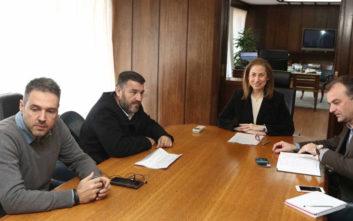 Συνάντηση της Μαριλίζας Ξενογιαννακοπούλου με την ΠΟΕ-ΟΤΑ