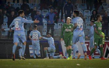 Κατώτερος των περιστάσεων ο Παναθηναϊκός, νέα ήττα στα Γιάννενα με 1-0