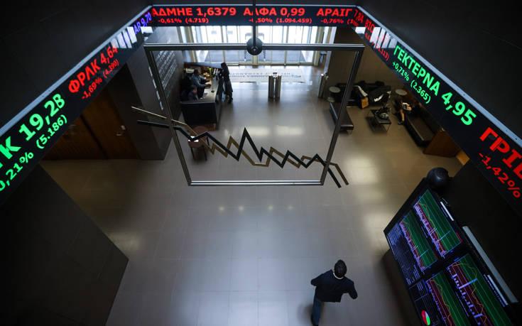 Σημαντικές απώλειες στο χρηματιστήριο