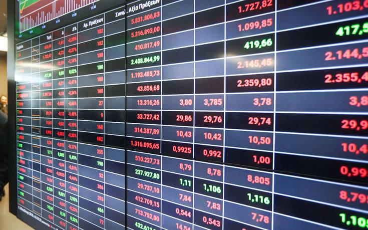 Χρηματιστήριο Αθηνών: Σημαντικές πιέσεις στο άνοιγμα της συνεδρίασης