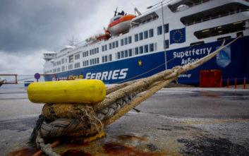 Προβλήματα στα δρομολόγια των πλοίων λόγω των ισχυρών ανέμων
