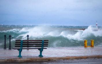 Οι ισχυροί άνεμοι το κύριο χαρακτηριστικό του φετινού χειμώνα
