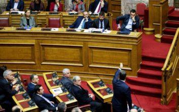 Η κόντρα Τσίπρα - Μητσοτάκη στη Βουλή για τον Πρόεδρο της Δημοκρατίας