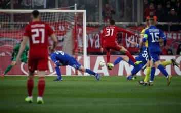 Ο Ολυμπιακός 2-2 με Ντιναμό, θα παίξει την πρόκριση στο Κίεβο