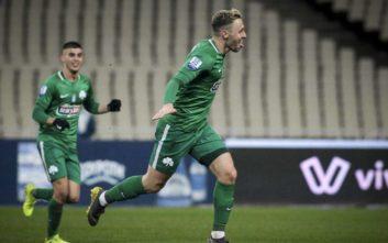 Στο παιχνίδι της πεντάδας ο Παναθηναϊκός, 1-0 τον Αστέρα Τρίπολης