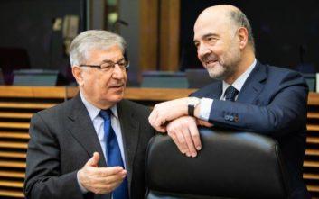 Μοσκοβισί: Κοινό συμφέρον Ελλάδας-Ευρωζώνης να εκταμιευθεί το 1 δισ.