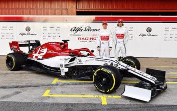 Το μονοθέσιο της Alfa Romeo για την F1 του 2019