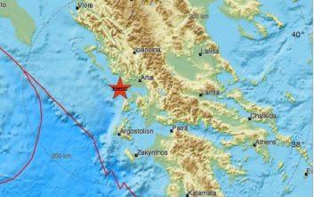 Σεισμός τώρα στην Πρέβεζα