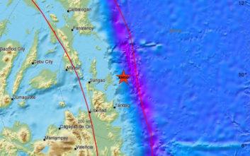 Σεισμός τώρα στις Φιλιππίνες
