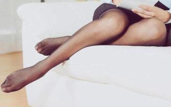 Ανακουφίστε τα κουρασμένα πόδια με καλσόν διαβαθμισμένης συμπίεσης