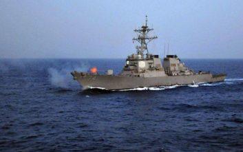 Στο λιμάνι της Λεμεσού το αντιτορπιλικό McFaul του 6ου στόλου των ΗΠΑ
