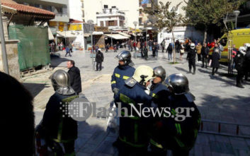 Ο λόγος που ο άνδρας στο Ηράκλειο Κρήτης απειλούσε να αυτοπυρποληθεί