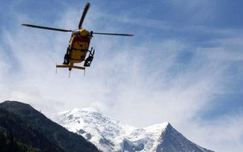 Κατέληξε ο ένας από τους τέσσερις τραυματίες μετά τη χιονοστιβάδα στην Ελβετία