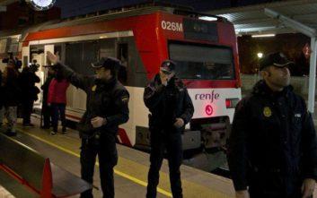 Μετωπική σύγκρουση τρένων στην Καταλονία