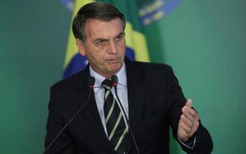 Μπολσονάρου: Ο ρατσισμός είναι κάτι σπάνιο στη Βραζιλία