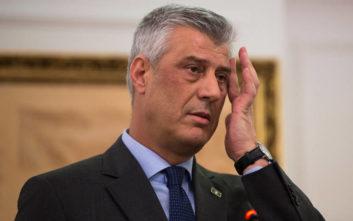 Θετικός σε αλλαγή συνόρων με τη Σερβία ο πρόεδρος του Κοσόβου