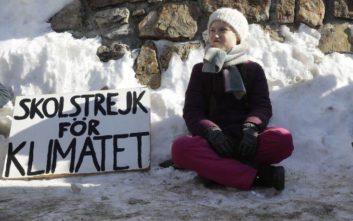 Η 16χρονη που κάνει «απεργία» κάθε εβδομάδα για την κλιματική αλλαγή