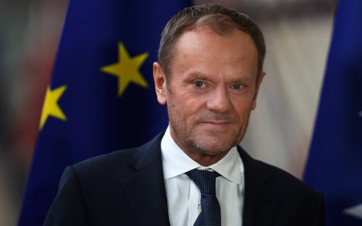 Τουσκ: Πιθανή μια καθυστέρηση του Brexit αν εγκριθεί η Συμφωνία Αποχώρησης