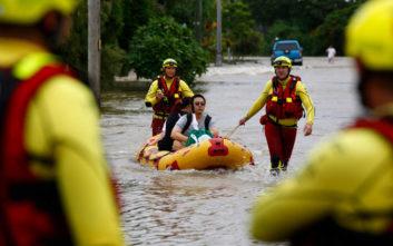 Δύο νεκροί στην Αυστραλία από τις πλημμύρες