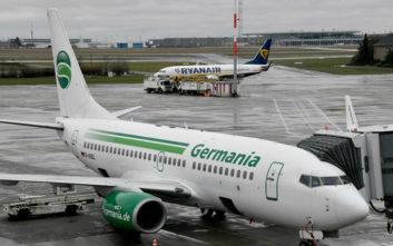 Βάρεσε κανόνι η αεροπορική εταιρεία Germania