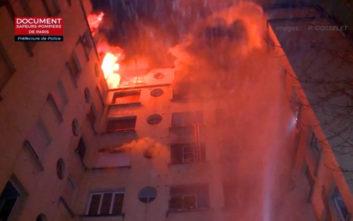 Συνελήφθη μία γυναίκα για την πολύνεκρη φωτιά σε πολυκατοικία στο Παρίσι