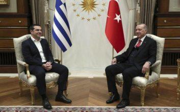 «Σε βαρύ ψυχροπολεμικό κλίμα οι συνομιλίες Τσίπρα με Ερντογάν»