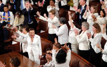 Το λευκό σκηνικό στο Κογκρέσο που «πονοκεφάλιασε» τον Τραμπ