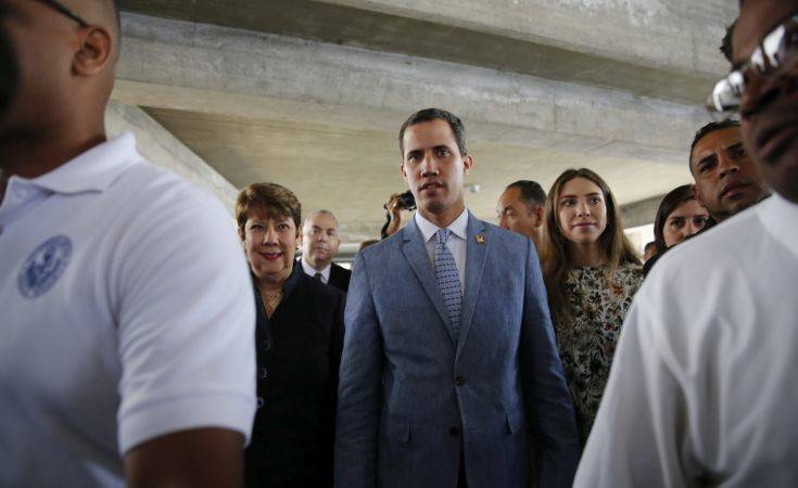 Ο Γκουαϊδό ξεκινά ταξίδι 900 χιλιομέτρων για την ανθρωπιστική βοήθεια των ΗΠΑ