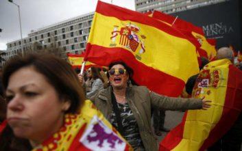 Στους δρόμους οι Ισπανοί κατά των συνομιλιών με την Καταλονία