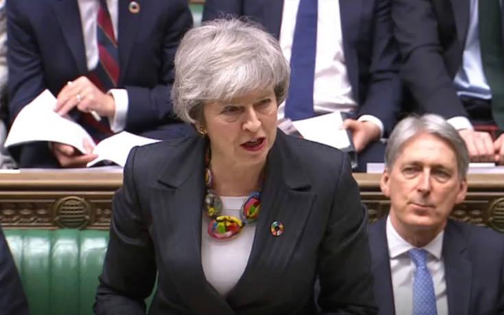 Μέι: Δεν υπάρχει ακόμη αρκετή υποστήριξη για μια τρίτη ψηφοφορία για το Brexit