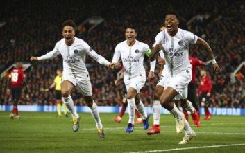Γαλλικό γλέντι για την Παρί μέσα στο Μάντσεστερ για τους 16 του Champions League