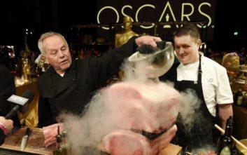 Ο σεφ των Όσκαρ που ταΐζει κάθε χρόνο τους σταρ του Χόλιγουντ