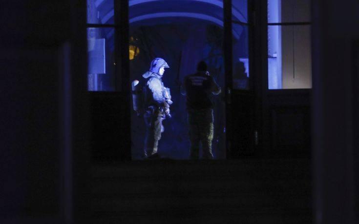 Η στιγμή της κατάρρευσης στο πανεπιστήμιο ΙΤΜΟ της Αγίας Πετρούπολης