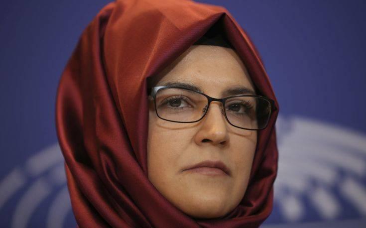 Στο Ευρωκοινοβούλιο η αρραβωνιαστικιά του Τζαμάλ Κασόγκι