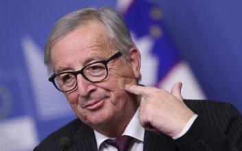 Γιούνκερ: Το μεγαλύτερο επίτευγμα της ΕΕ η παραμονή της Ελλάδας στην ευρωζώνη