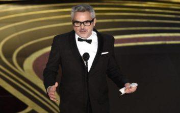 Στον Αλφόνσο Κουαρόν για το «Ρόμα» το Όσκαρ Καλύτερης Σκηνοθεσίας